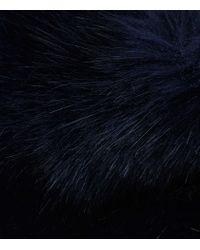 Reiss | Blue Pixie Faux-fur Stole | Lyst