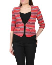 Cutie | Multicolor Tribal Print Fitted Blazer | Lyst