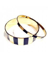 Tuleste | Blue Step Channel Bangles | Lyst