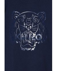 KENZO - Blue Iconic Tiger Sweater for Men - Lyst