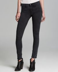 Rag & Bone - Blue Jeans - The Legging Skinny In Rosebowl Navy - Lyst