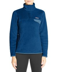 Patagonia | Blue 're-tool' Snap Pullover | Lyst
