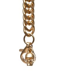 Alexander McQueen   Ribcage Chain Wallet in Black   Lyst