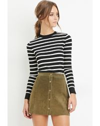 Forever 21 - Black Classic Striped Sweater - Lyst