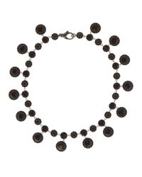 Givenchy | Black Crystals-embellished Necklace | Lyst