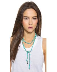 Ginette NY | Blue Fallen Sky Sautoir Necklace | Lyst
