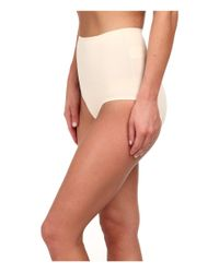 Yummie By Heather Thomson - Natural Marjorie Mid Waist Brief - Lyst