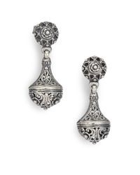 Konstantino | Metallic Classics Sterling Silver Drop Earrings | Lyst