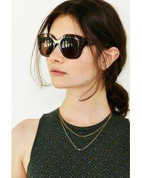 Quay - Brown Monroe Sunglasses - Lyst
