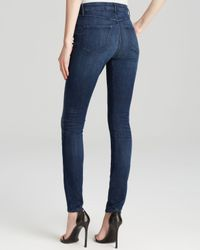3x1 - Blue Jeans - W3 High Rise Skinny Channel Seam In Wash No 3 - Lyst