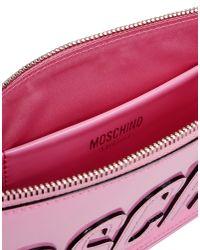 Moschino - Pink Clutch - Lyst