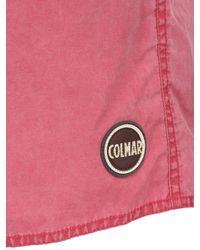 Colmar - Pink Cotton & Nylon Blend Swimming Shorts for Men - Lyst