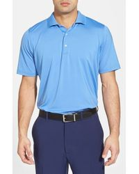 Fairway & Greene - Blue Moisture Wicking Stretch Jersey Golf Polo for Men - Lyst