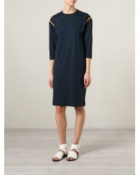 Acne Studios - Blue 'minerva' Dress - Lyst