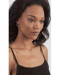 Pamela Love | Metallic 5 Spike Stud Earrings | Lyst