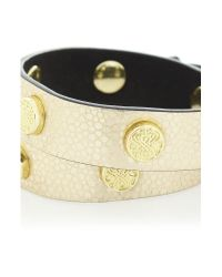 Biba - Metallic Double Wrap Cuff - Lyst