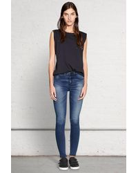 Rag & Bone | Blue Highrise Legging | Lyst
