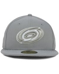 KTZ - Gray Carolina Hurricanes C-dub 59fifty Cap for Men - Lyst