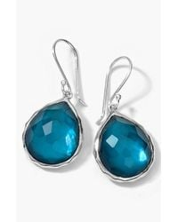 Ippolita | Blue 'wonderland' Teardrop Earrings | Lyst
