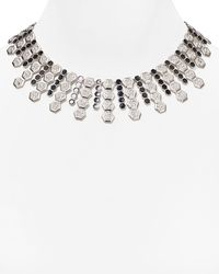 Carolee | Metallic Deco Nights Statement Necklace, 17"