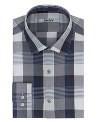 DKNY | Blue Roll Tab Sleeved Sportshirt for Men | Lyst
