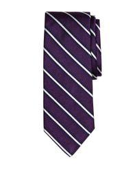 Brooks Brothers - Purple Framed Rep Stripe Tie for Men - Lyst