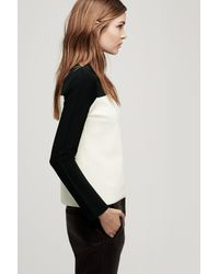 Rag & Bone - Natural Roxy Long Sleeve Slash Neck - Lyst