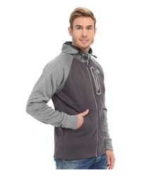 The North Face | Gray Mack Mays Full Zip Hoodie for Men | Lyst
