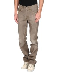 Jeans Michiko Koshino | Brown Denim Pants for Men | Lyst