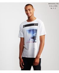 Brooklyn Calling | White Badlands Tee for Men | Lyst