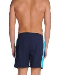 Bugatti - Blue Swim Trunks for Men - Lyst