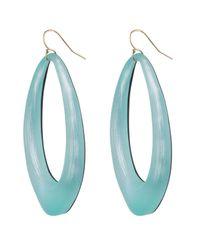 Alexis Bittar - Blue Organic Link Earring - Lyst
