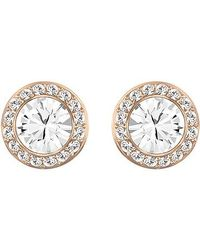 Swarovski | Pink Angelic Earrings | Lyst