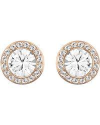 Swarovski - Pink Angelic Earrings - Lyst