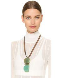 Marni - Brown Resin Necklace - Opal - Lyst