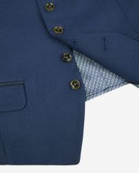 Ted Baker - Blue Patterned Suit Waistcoat for Men - Lyst