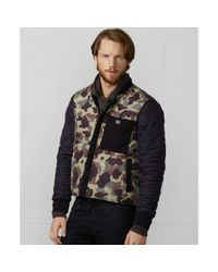 Denim & Supply Ralph Lauren | Green Work Wear Quilted Camo Jacket for Men | Lyst