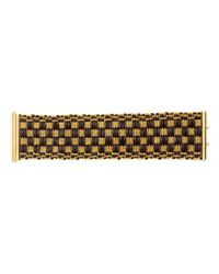 Carolina Bucci | Metallic 18k Gold Thread and Leather Bracelet | Lyst