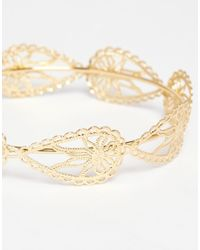 ASOS | Metallic Filigree Arm Cuff | Lyst