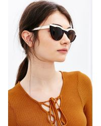 Kyme   White Angel Cat-eye Sunglasses   Lyst