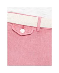 Polo Ralph Lauren   Pink Straight-leg Linen Pant for Men   Lyst