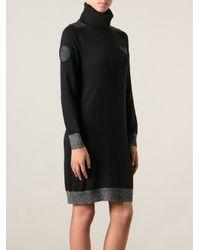 DIESEL - Black 'm-neva' Dress - Lyst