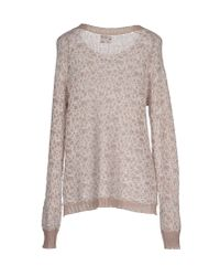 Vero Moda - Natural Jumper - Lyst