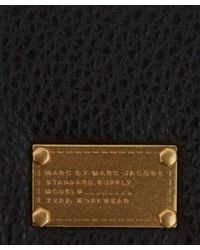 Marc By Marc Jacobs - Black Too Hot To Handle Leather Card Holder for Men - Lyst