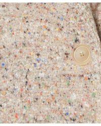 Acne Studios - Pink Tessa Trash Tweed Boulce Wool-blend Coat - Lyst