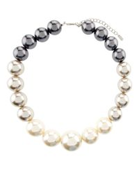 Hobbs - Gray Lou Pearl Necklace - Lyst