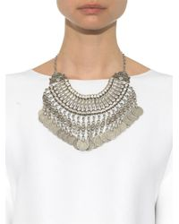 Muzungu Sisters - Metallic Berber Coin Necklace - Lyst