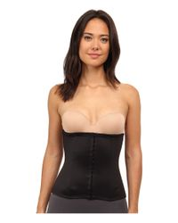 Tc Fine Intimates | Black Extra Firm Hook And Eye Waist Cincher | Lyst