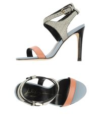 Lola Cruz - Pink Sandals - Lyst