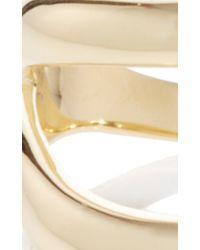 Ana Khouri - Metallic Simplicity Yellow Gold Ring - Lyst